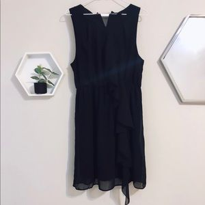 Black siffon dress